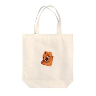 吠えるライオン Tote Bag