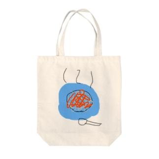 画伯の麻婆豆腐 Tote bags