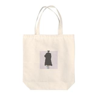 後ろ姿【油彩】 Tote bags