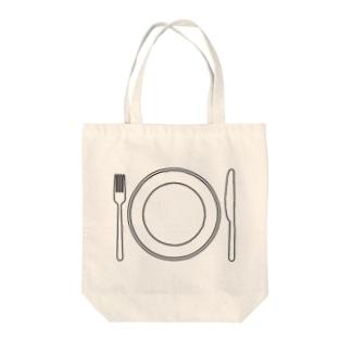 テーブルセット Tote bags