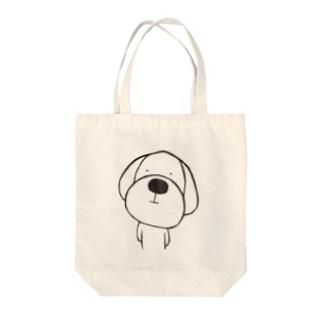 ゆる犬 Tote bags