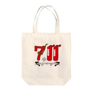 ゲリラコレクション「711」Tシャツ Tote bags