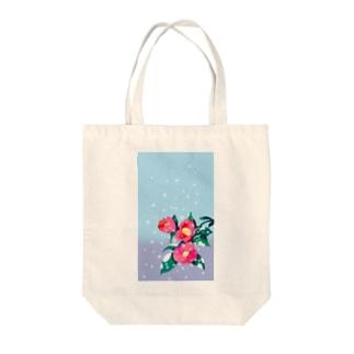 寒椿 Tote bags