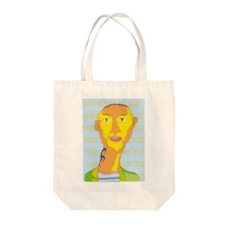 トライバル・タトゥー・オッサン Tote bags