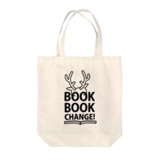 鹿手袋シカテグッズ屋のBBC2017_b Tote bags