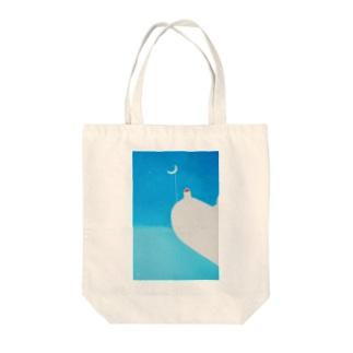 幸せな夜 Tote bags