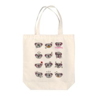 表情編-koaland-コアランド- Tote bags