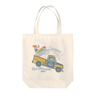 surf wrench service Tote bags