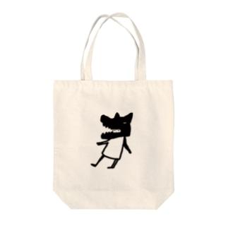 狼少年 Tote bags