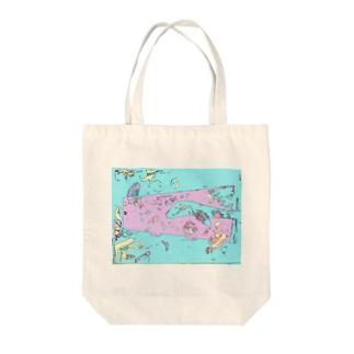 水槽の教室 Tote bags