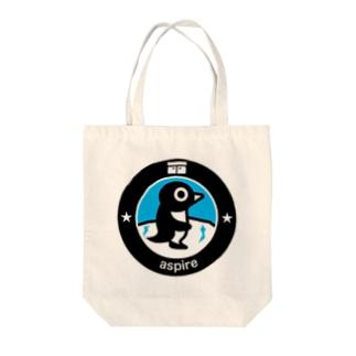 パ紋No.3022 aspire Tote bags