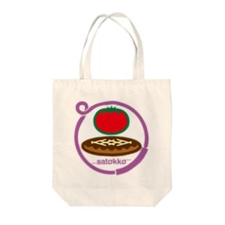 パ紋No.3023 satokko  Tote bags