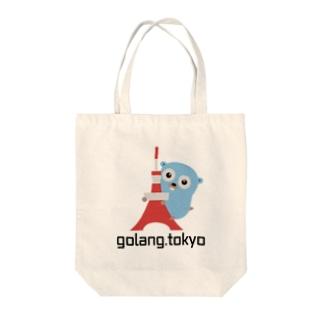 golang.tokyo Tote bags