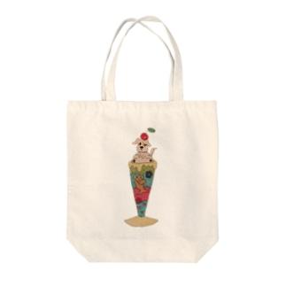 プリンセスクリーミーショコラ Tote bags