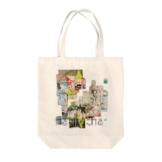 ハギレちゃん Tote bags