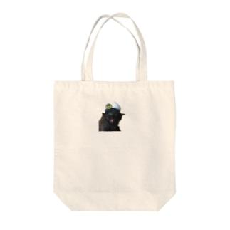 猫のお巡りさん Tote bags