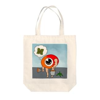 トマト妖精衣替え Tote bags