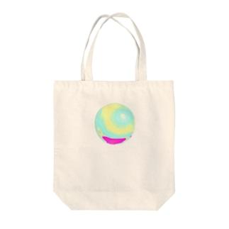 ホログラム球体 Tote Bag