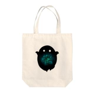 ツノナシ Tote bags