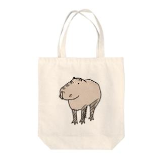 カピ氏 Tote bags
