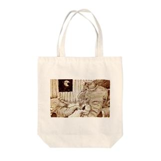 おやすみ Tote bags