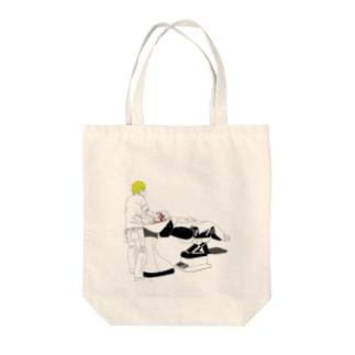 シャンプーin美容室 Tote bags