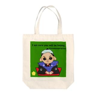 福助人形 Tote bags