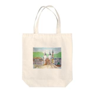 ハイデルベルグ橋 Tote bags