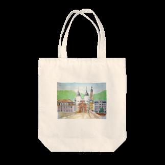 CHAIR LABOのハイデルベルグ橋 Tote bags