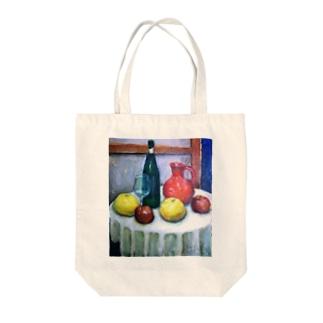 食卓 Tote bags