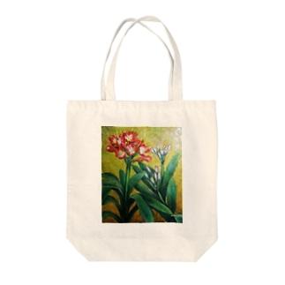 蕾と開花 トートバッグ