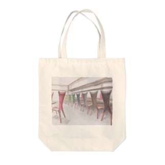 CHAIR LABOのネコチェア Tote bags