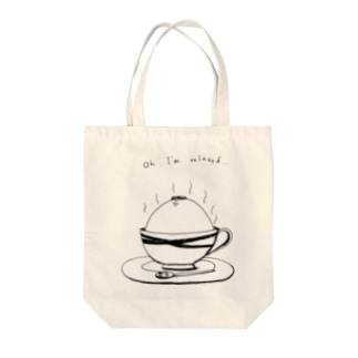 """Oh I'm relaxed..."" Tote bags"