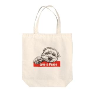 マルプーのピースくん Tote Bag