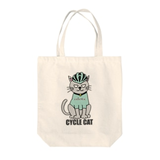 CYCLE CAT Tote bags