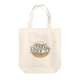 うさトッツォ Tote bags