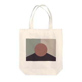 現代アート Tote bags