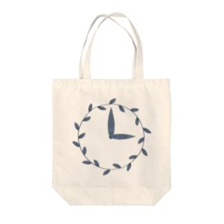 時計/grass Tote Bag