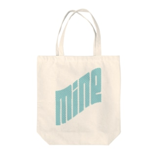MINEblue Tote bags