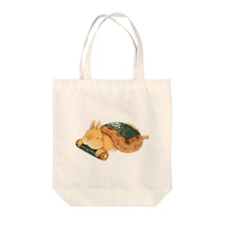 せんべいうさぎ Tote bags