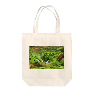 苔の間 Tote bags