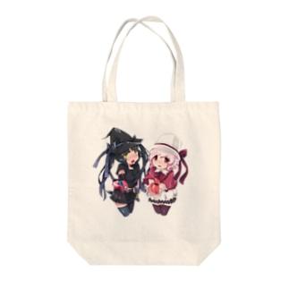 SEOのホワイトハットジャパンの白野おぷちと黒木凛紅からのプレゼント Tote bags