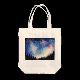 BTOKの森から見上げた星空 Tote bags