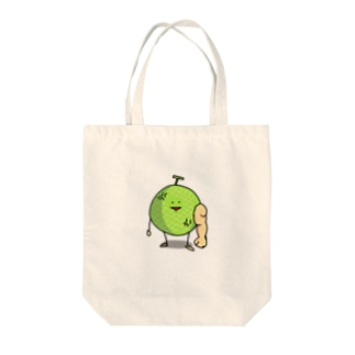 Angry Melon Tote bags