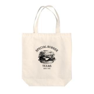 BURGUR Tote bags