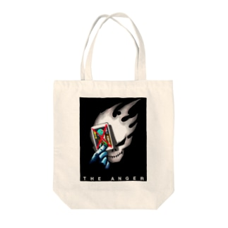 the anger DK Tote bags