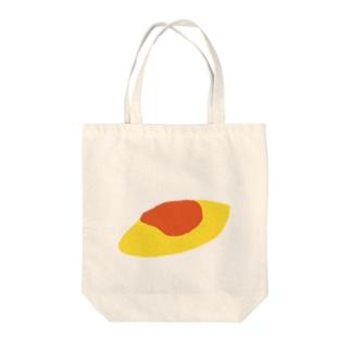 オムレツ Tote bags
