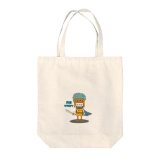勇者マカロン Tote bags