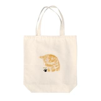 ロジローのネコ 茶トラ Tote Bag