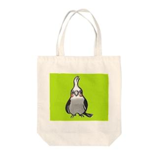オカメインコのプーちゃん Tote bags
